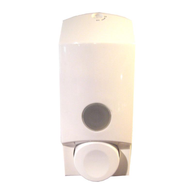 clivia seifenspender 800ml wei nachf llbar und zur wandmontage. Black Bedroom Furniture Sets. Home Design Ideas